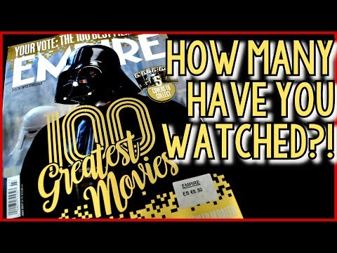 100 GREATEST MOVIES : How Many Have You Seen?