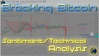Breaking Bitcoin Live Stream - Sentiment/Technical Analysis!