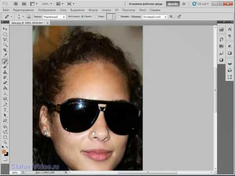 Чистое лицо, устраняем дефекты кожи в Photoshop CS5
