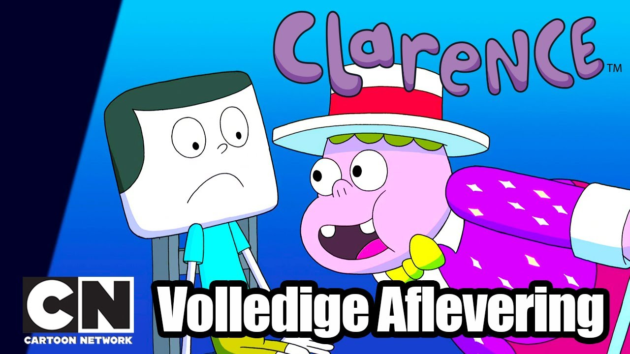 Clarence | Jeff Wint (Volledige aflevering in het Nederlands) | Cartoon Network