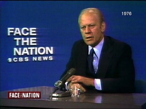 Flashback: Gerald Ford grilled on Watergate, Nixon