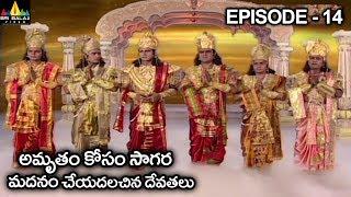 సంజీవినికి ప్రత్యామ్నాయంగా అమృతం కోరుకున్న దేవతలు | Vishnu Puranam Telugu Episode 14/121