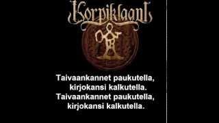 Korpiklaani - Uniaika (lyrics)