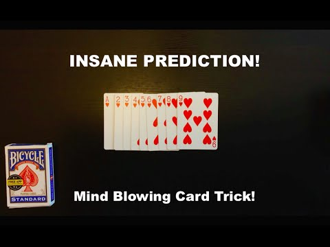 Insane Number Prediction Card Trick Revealed