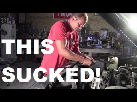 2003 CHEVY TAHOE AC COMPRESSOR - Who\u0027s Stupid Idea Was This? - YouTube