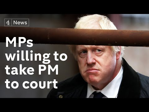 Could MPs take the PM to court to force Brexit delay?