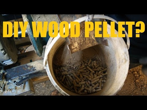 DIY Wood Pellet Machine for Pellet Stove