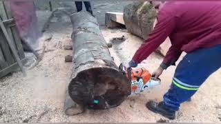 Fuel injected chainsaw stihl ms 500i-6.8 hp