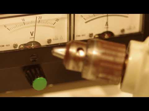 Black & Decker Drill - minimum force to overcome friction