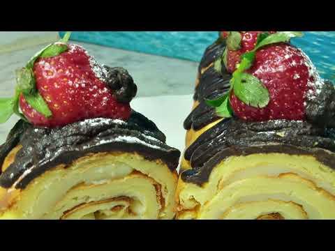 how-to-make-a-roll-cake---comment-faire-un-gâteau-roulé---كيفية-صنع-كعكة-رول
