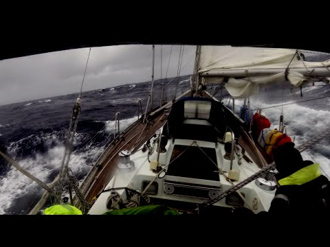 Sandi; Ocean Sailing, crossing the North Atlantic (part 3)