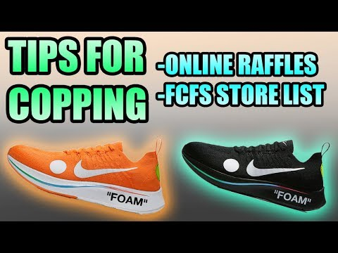 Tips For Copping The OFF WHITE ZOOM FLY ! | Where + How To Cop The OFF WHITE ZOOM FLY !