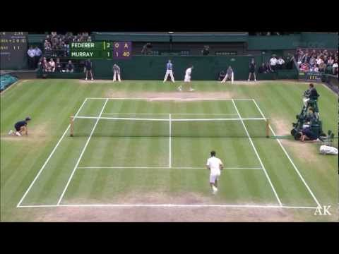 Roger Federer's 2012 Wimbledon - The Triumph of A God (HD)