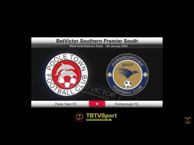 SEMI PRO FOOTBALL UK | Poole Town 3 v 1 Farnborough