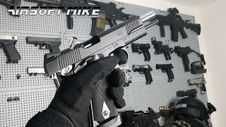 asg sti 1911 a1 shell ejecting gas blowback airsoft pistol rss