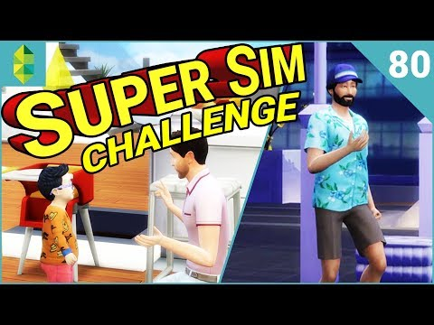 SUPER SIM CHALLENGE | Cruise Ship Tourists?! (Part 80)