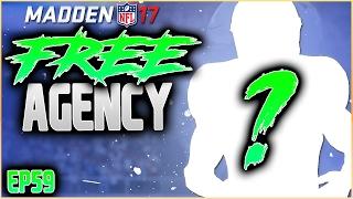 FREE AGENCY RETURN TO OLD TEAM?! MADDEN 17 CAREER MODE RB | SEASON 7