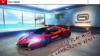 Asphalt 8 : Airborne   Play With Lamborghini Veneno #Games