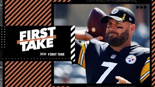 Is it time for the Pittsburgh Steelers to replace Big Ben? | First Take