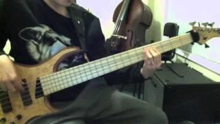 Fred Hammond - Celebrate (He Lives) - Bass Cover - MTD Kingston Z Bass