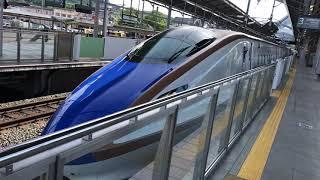北陸新幹線E7系W7系あさま601号W8編成はくたか552号F5編成