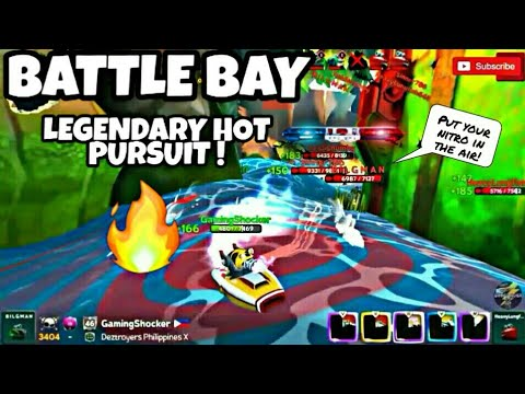 BATTLE BAY ! #38: THE LEGENDARY HOT PURSUIT ! | 60 FPS GAMEPLAY