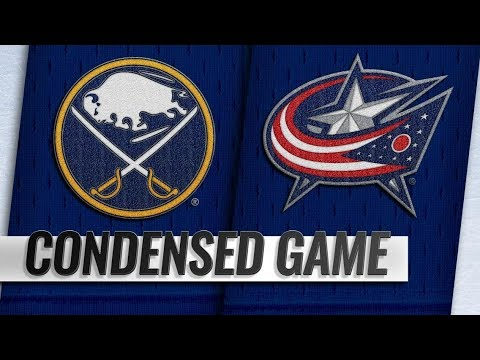 Buffalo Sabres vs Columbus Blue Jackets – Oct.27, 2018 | Game Highlights | NHL 18/19 | Обзор матча