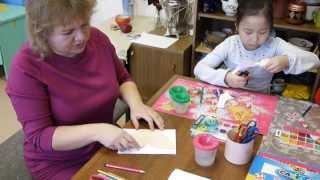 Видеоурок по изготовлению бабочек из бумаги