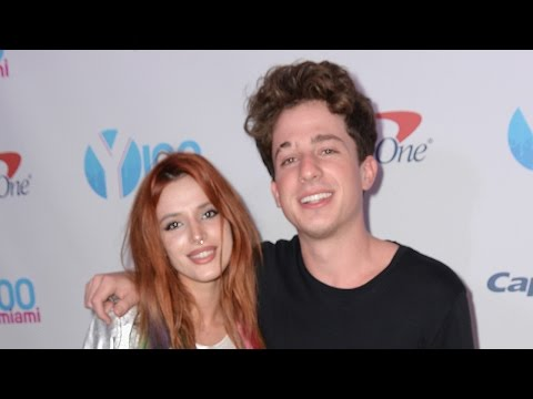 Bella Thorne Packs On The PDA With Charlie Puth
