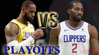 Los Angeles Clippers vs Los Angeles Lakers - Full Game! NBA PLAYOFFS - Game 1 - NBA 2K20