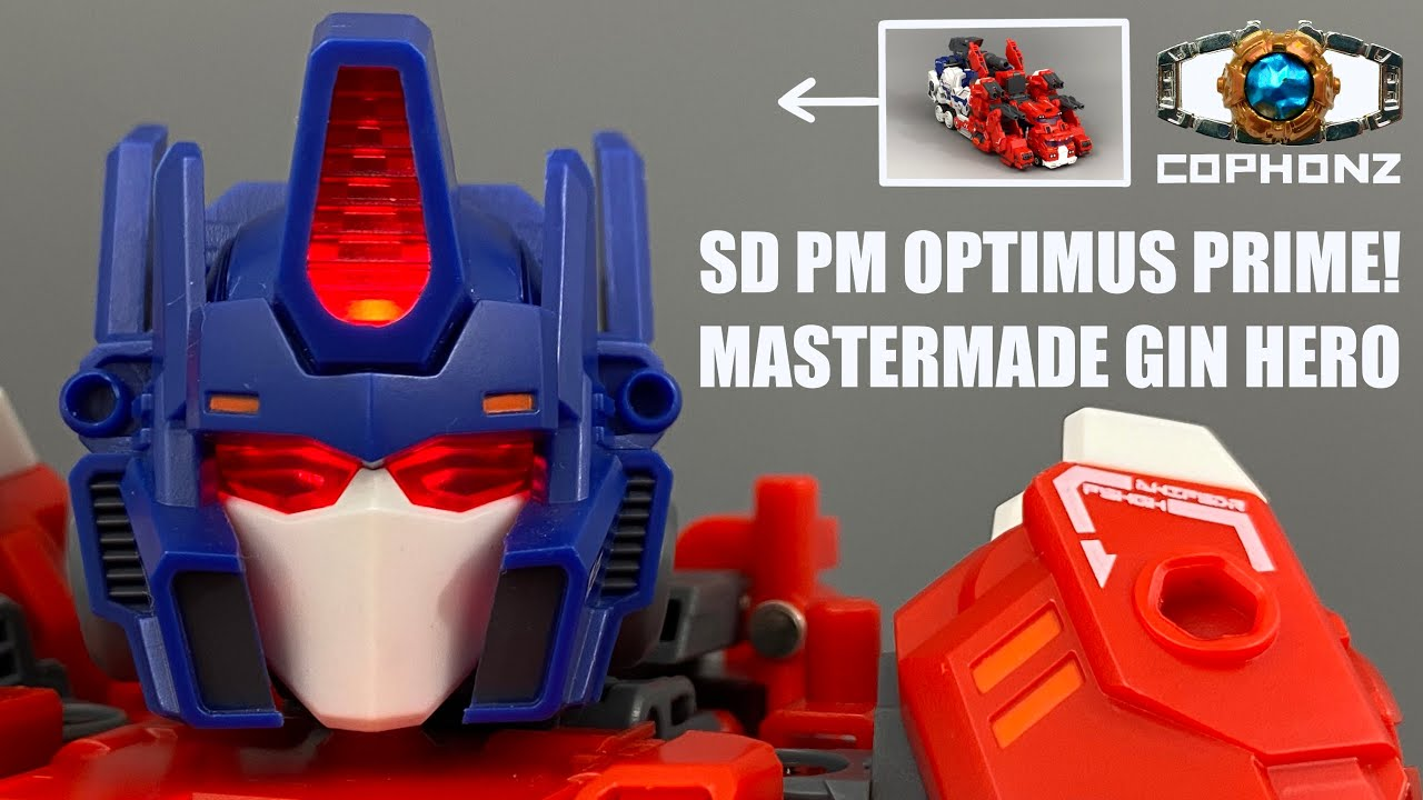 Transformers Master Made SDT-07 Gin Hero Warrior No Words Review by Cophonz