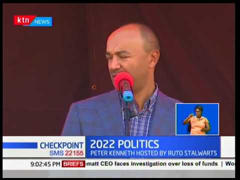 Peter Kenneth makes a comeback by Ruto's allies