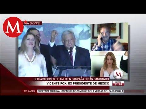 Si sirve a México, renuncio a mi pensión: Vicente Fox