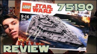 Lego Star Wars 75190 First Order Star Destroyer Review | Обзор ЛЕГО Звёздные Войны