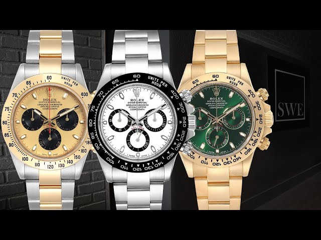 Rolex Cosmograph Daytona Showcase Review | SwissWatchExpo