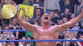 Kurt Angle wins 20-Man Over-the-Top Battle Royal: SmackDown, January 13, 2006
