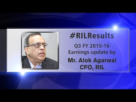 #RILResults Earnings Update Q3 FY 2015-16