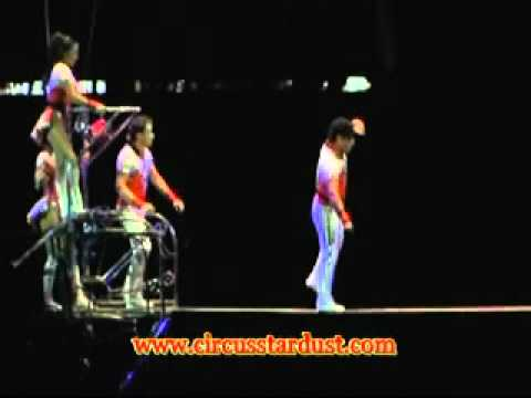 Circus Stardust Entertainment Agency Presents: High Wire Troupe (Circus Act 01051)
