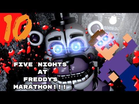 WeLl HeLlO AgAiN, WhAlENJp!!!   Five Nights At Freddy's Marathon - Part 10