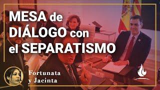La mesa de diálogo entre el Gobierno de Sánchez y el separatismo catalán