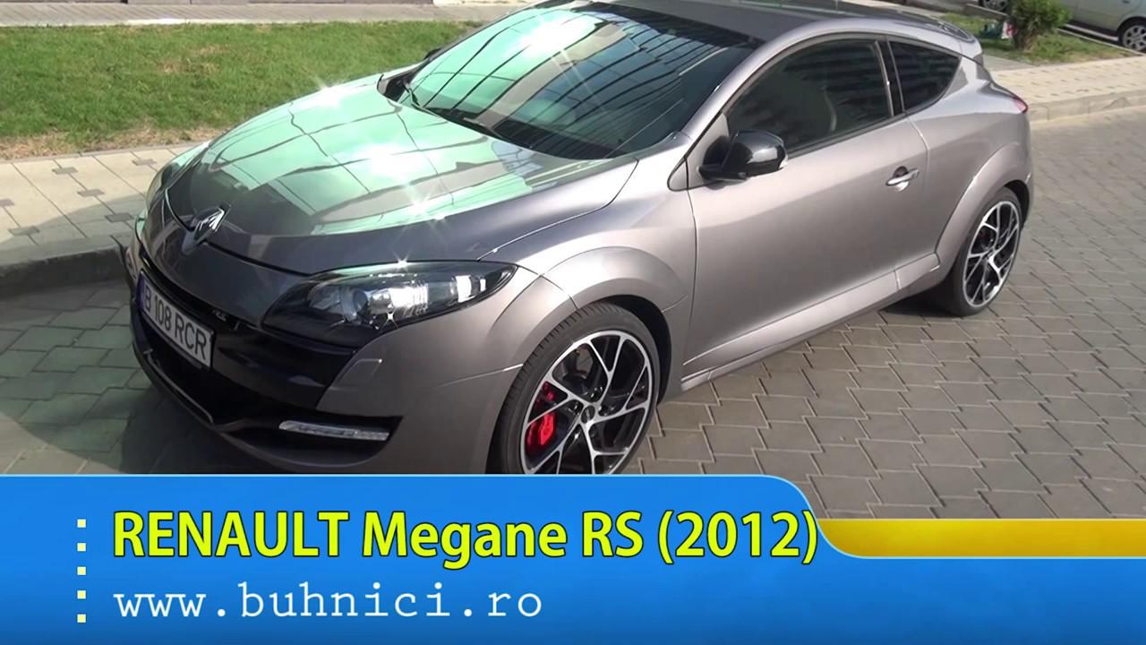 REVIEW - Renault Megane RS 2012 (www.buhnici.ro)