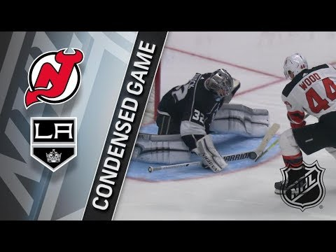 New Jersey Devils vs Los Angeles Kings – Mar. 17, 2018 | Game Highlights | NHL 2017/18. Обзор