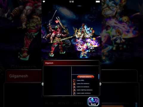 FFBE: Gilgamesh's Offensive - 5 unit /no TMR/No Friend Strategy
