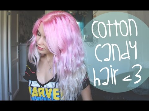 How To: Pastel Pink/Purple/Silver Ombre Hair ♡