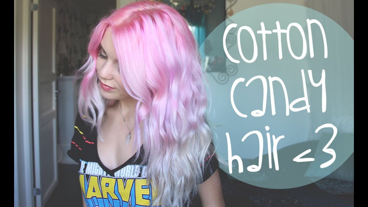 Light Pink Hair Cotton Candy