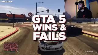 Veyron GTA 5 WINS FAILS 89 REACTION