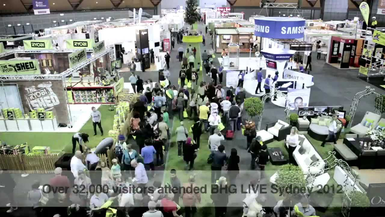Better Homes And Gardens Live 2012 Youtube
