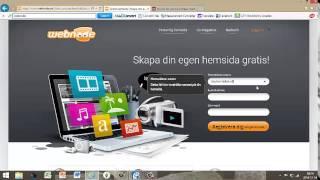 Hur man gör en hemsida gratis,fort och enkelt