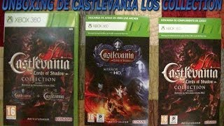 Unboxing de Castlevania Lords of Shadow Collection