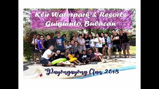 Payongayong Clan Round-up Part II @ Klir Water Park Resort, Guinguinto, Bulacan